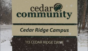 Cedar Ridge Campus Sign