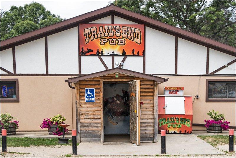Trail's End Pub Entrance