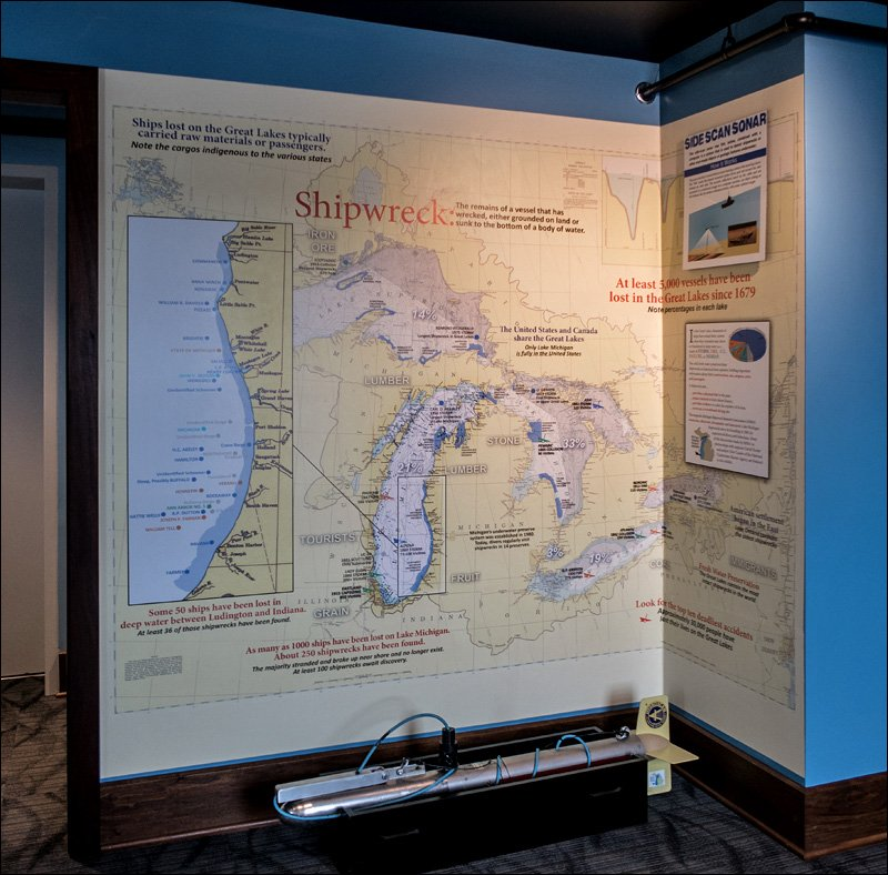 Lake Michigan Shipwreck Map