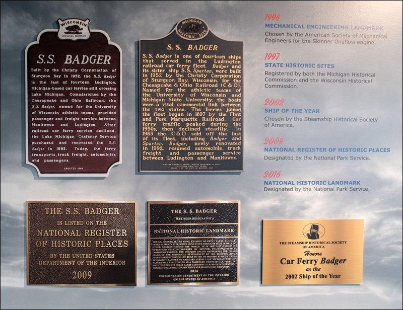 S.S. Badger - National Historic Landmark
