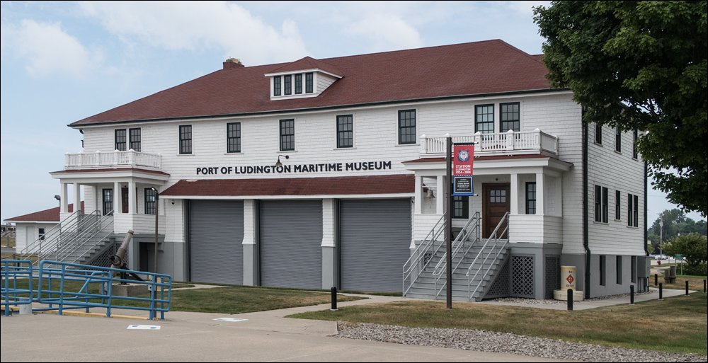 Port of Ludington Maritime Museum - Lake Side