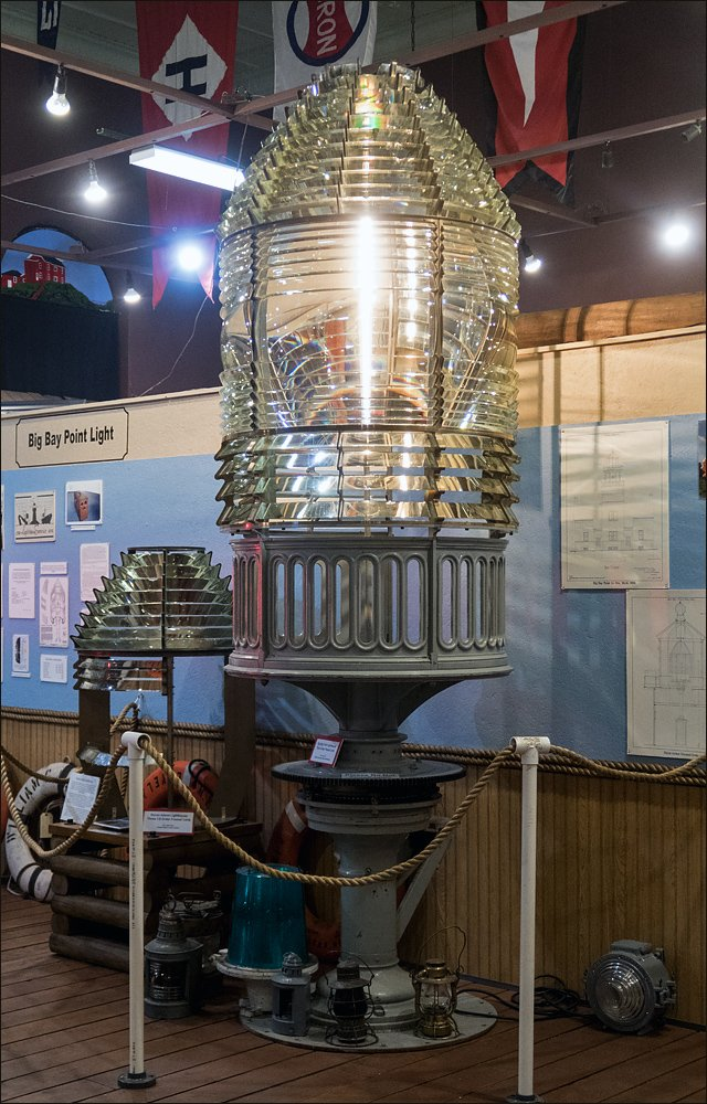 Big Bay Point Third Order Fresnel Lens