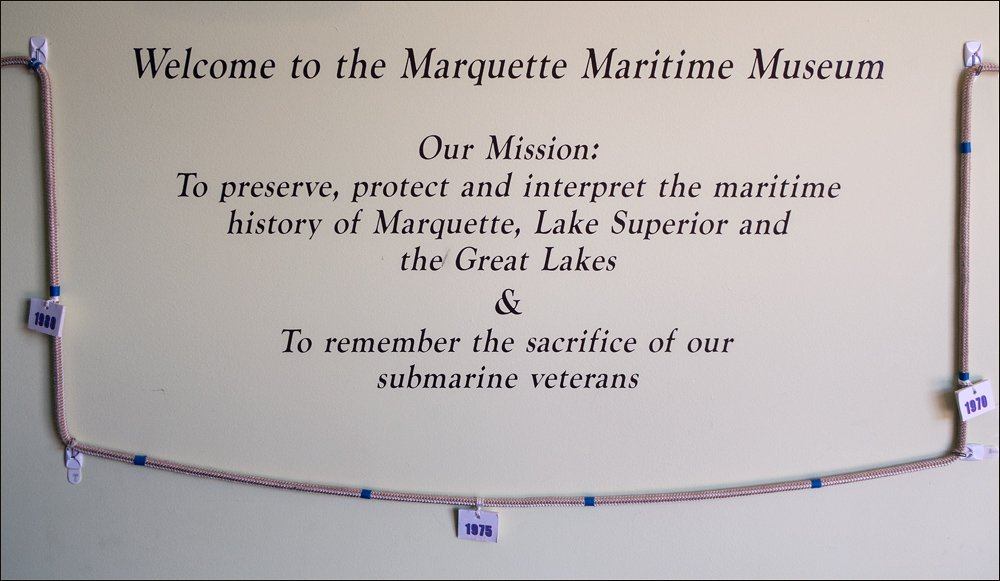 Marquette Maritime Museum Mission