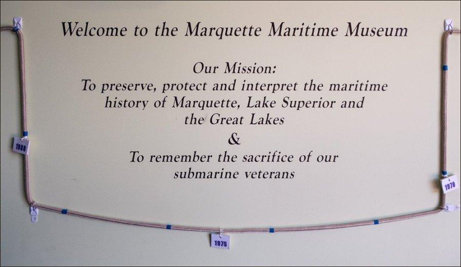 Marquette Maritime Museum Mission