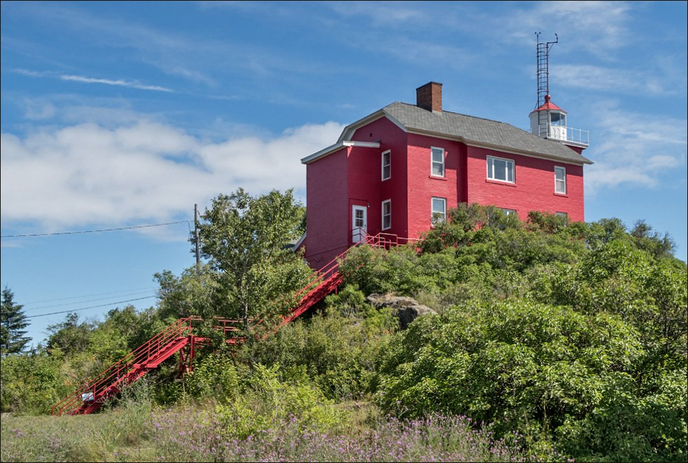 Marquette Harbor Lighthouse - East View