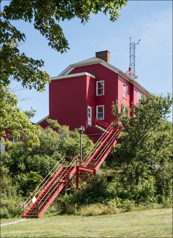 Marquette Harbor Lighthouse - Southeast View