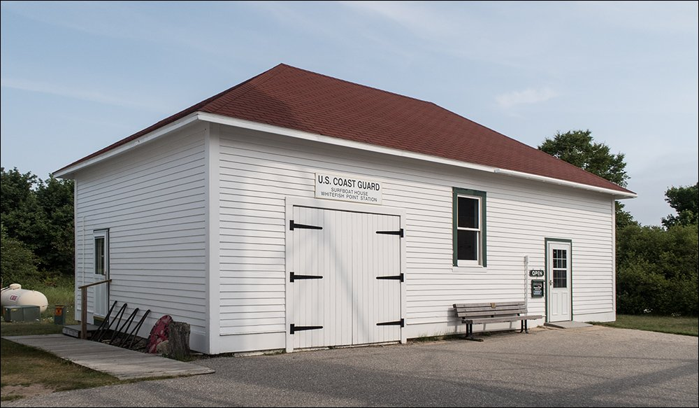 U.S. Coast Guard Surf Boat House