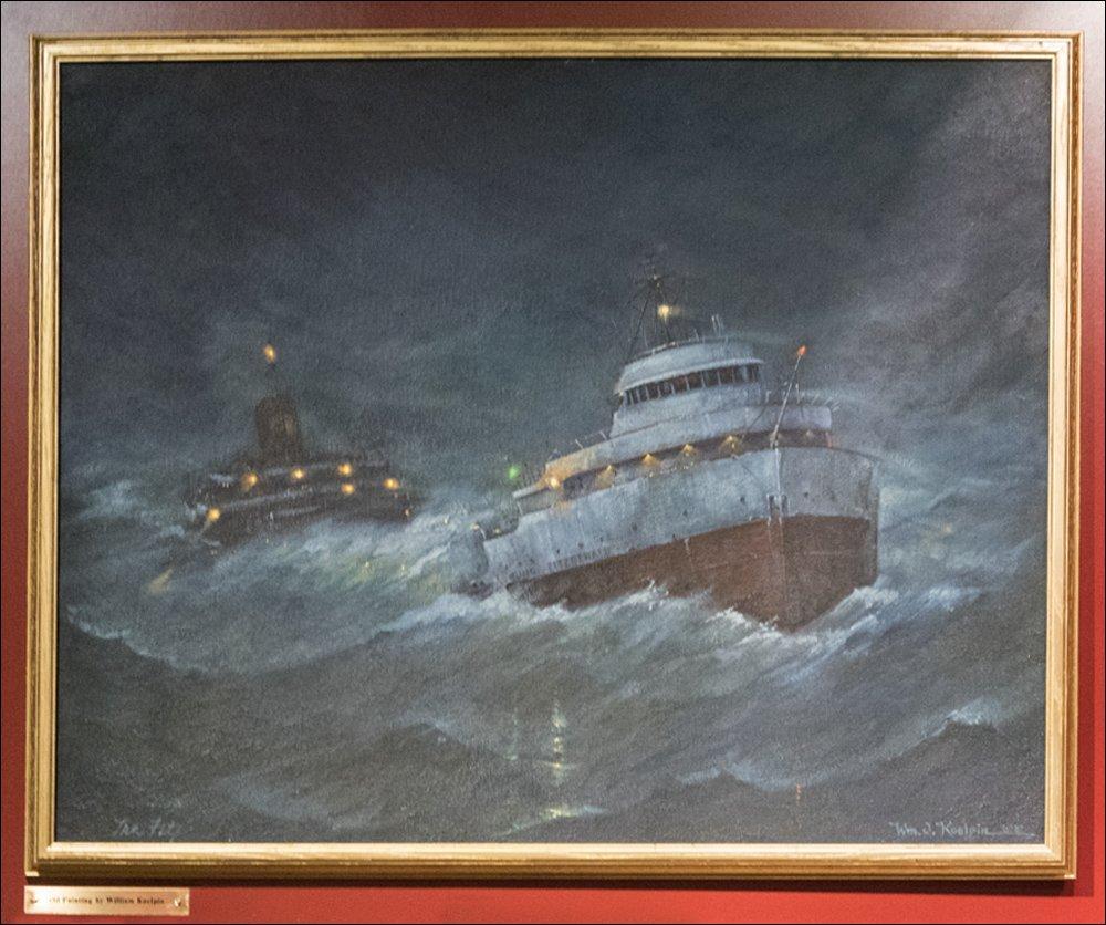 S.S. Edmund Fitzgerald's Last Voyage