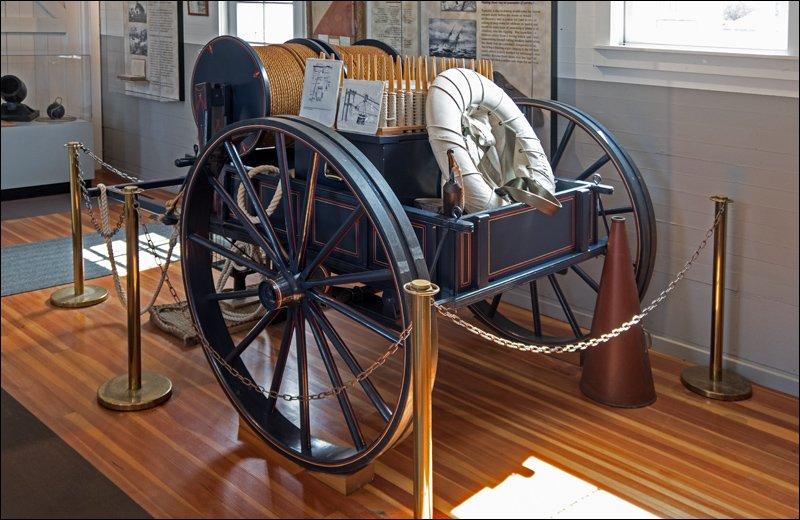 U.S.L.S.S. Lyle Gun Line Cart