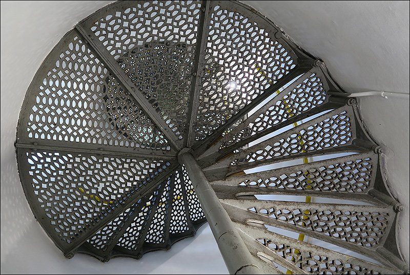 Tower Staircase - 96 Steps to the Top