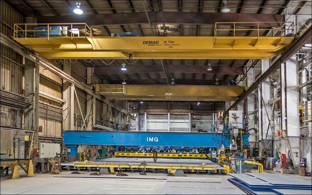 IMG robotic welder
