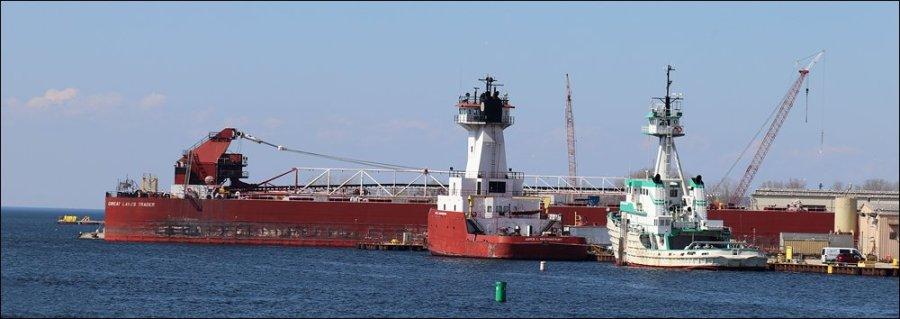 Fincantieri Bay Shipbuilding from the Sturgeon Bay Steel Bridge