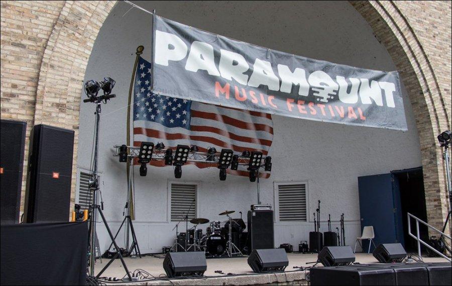 Nice venue for a music festival