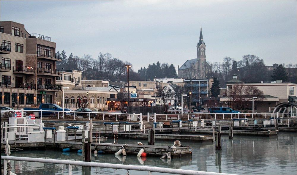 Inner Harbor and St. Mary's Church