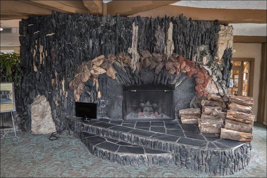 Weathervane Terrace Fireplace