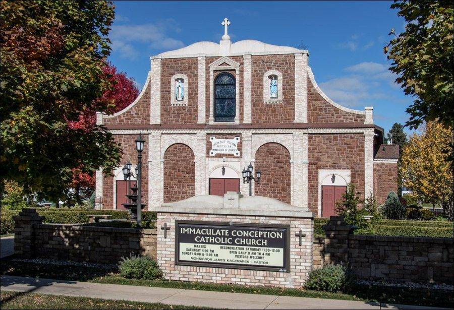 Immaculate Conception Catholic Church - Iron Mountain
