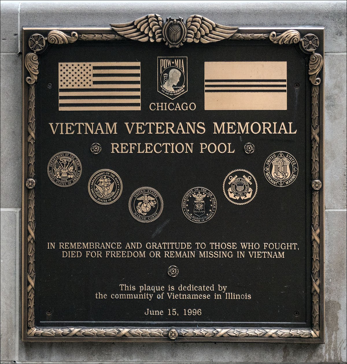 Chicago Vietnam Veterans Memorial
