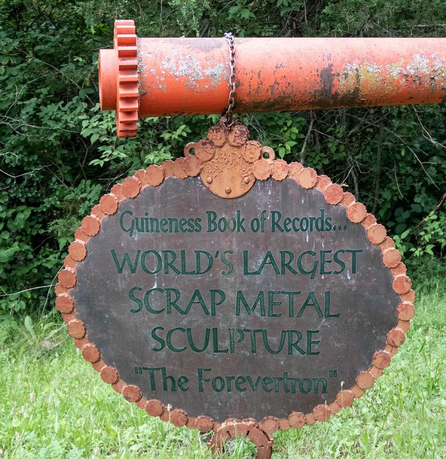 Dr. Evermor's Sculpture Park - Ingress