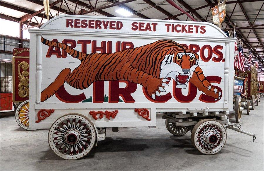 Circus World Museum - Wagons