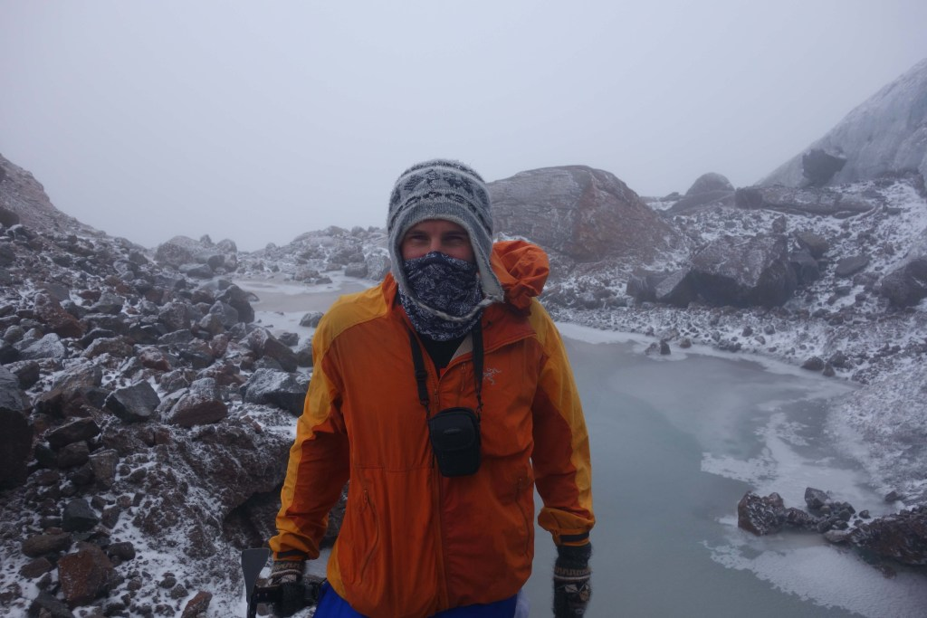 The snowcapped traverse