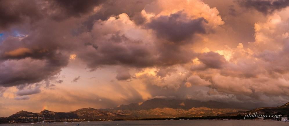 Calvi, ciel d'orage