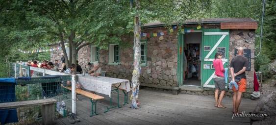 Restauration au refuge de Carozzu