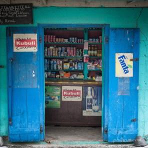 Epicerie sur l'île Dominique