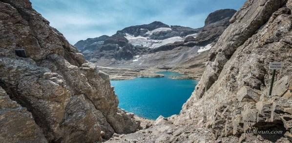 Lac du Marbore depuis Tuquerouye