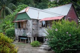 Maison typique de l'île Dominique