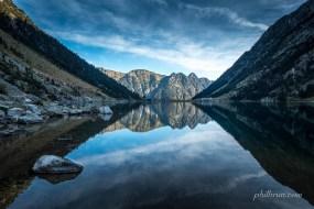 Reflet du lac de Gaube