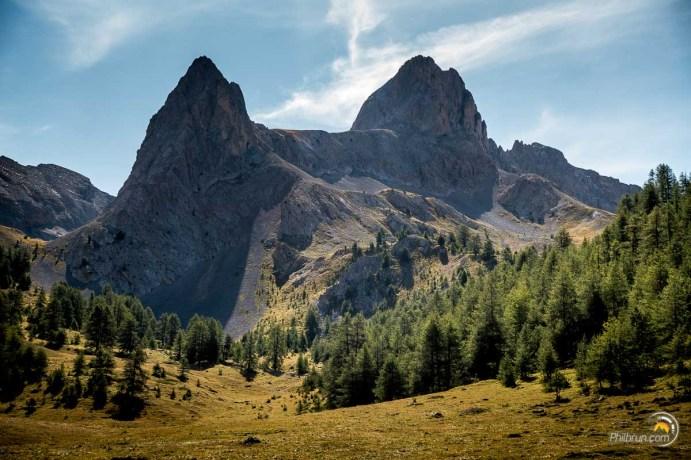 La pointe de la Selle est une montagne minérale de toute beauté