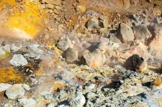 Krýsuvík roches chaudes et odeur de souffre