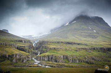 Paysage Islandais Sveinsstekksfoss