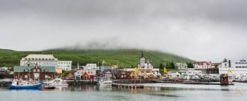 Le petit port d'Husavik