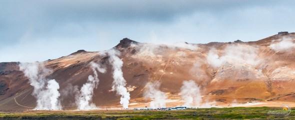 Islande panoramique sur le site Hverarond
