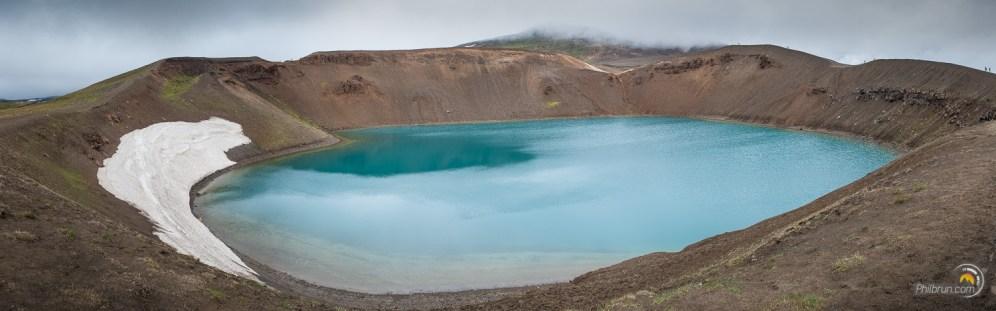 Ce cratère est toujours en activité. Il se repose simplement ;-)
