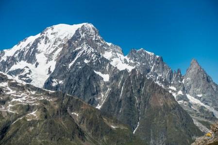 Le Mont Blanc versant Italien