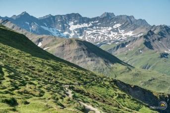 Montée vers le Col Ferret