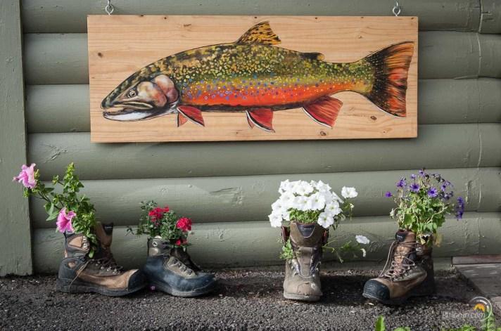 Yellowstone est également un haut lieu de randonnée et de montagne où les rivières regorgent de jolies truites saumonées.
