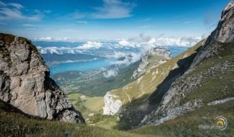 Refuge le la tournette, Chalet d'Aulp et lac d'Annecy