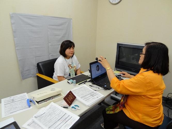 Philippine Embassy conducts OAV Registration in Fukushima