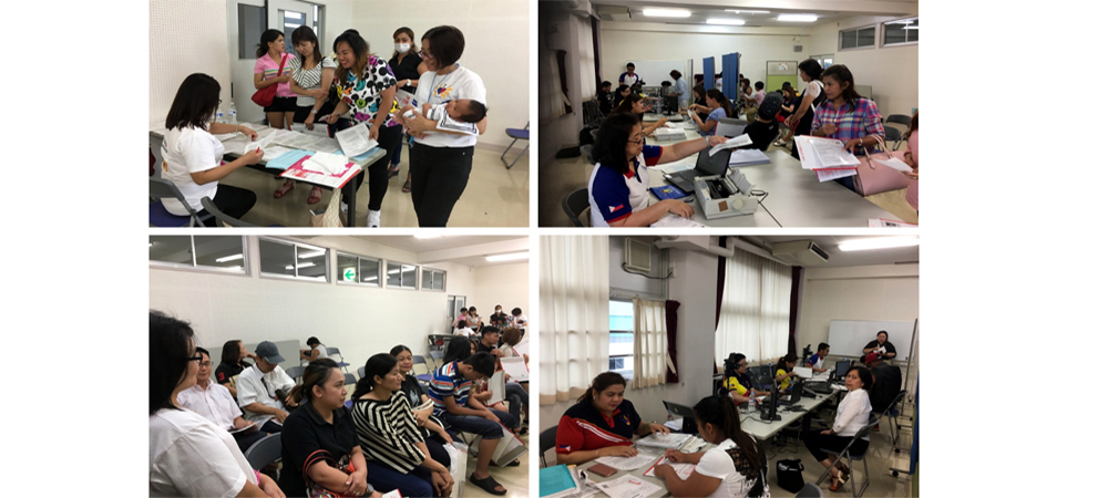 Philippine Embassy in Tokyo Conducts Fifth Outreach Consular Mission