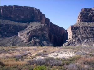 Santa Elena Canyon, proper.