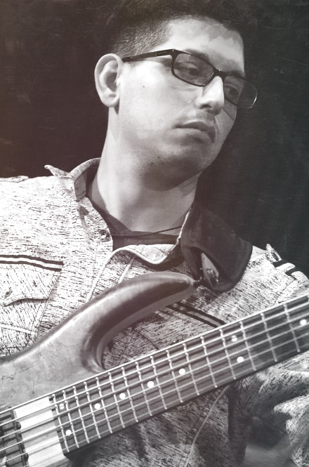 Charles Buonasera Bassist of Phil Firetog Trio