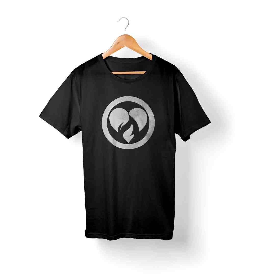 Phil Firetog Trio Logo T-Shirt Black