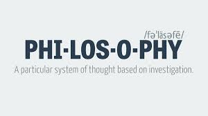 Meaning and Definition of Philosophy