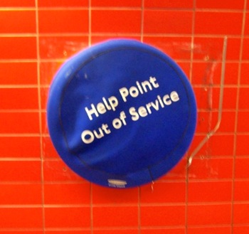 Help Point Out of Service