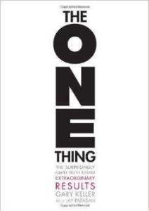 the one thing book