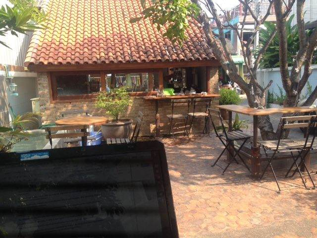 My office for the day in Chiang Mai