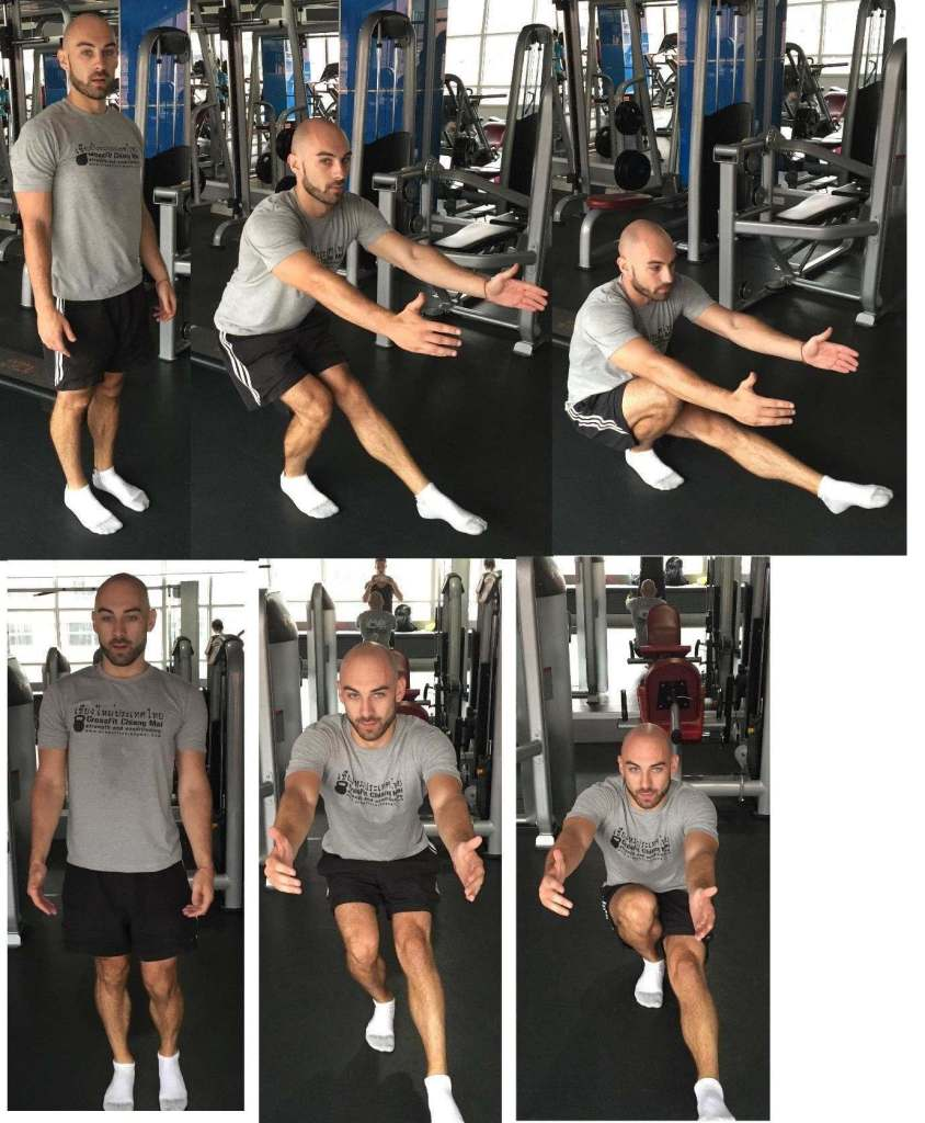Phil Hawksworth Basic Mobility Pistol Squat